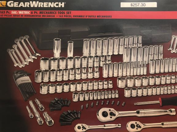 "Image For TOOL SET ""GEAR WRENCH"""