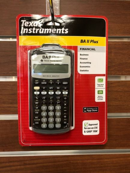 Image For CALCULATOR BA11 PLUS