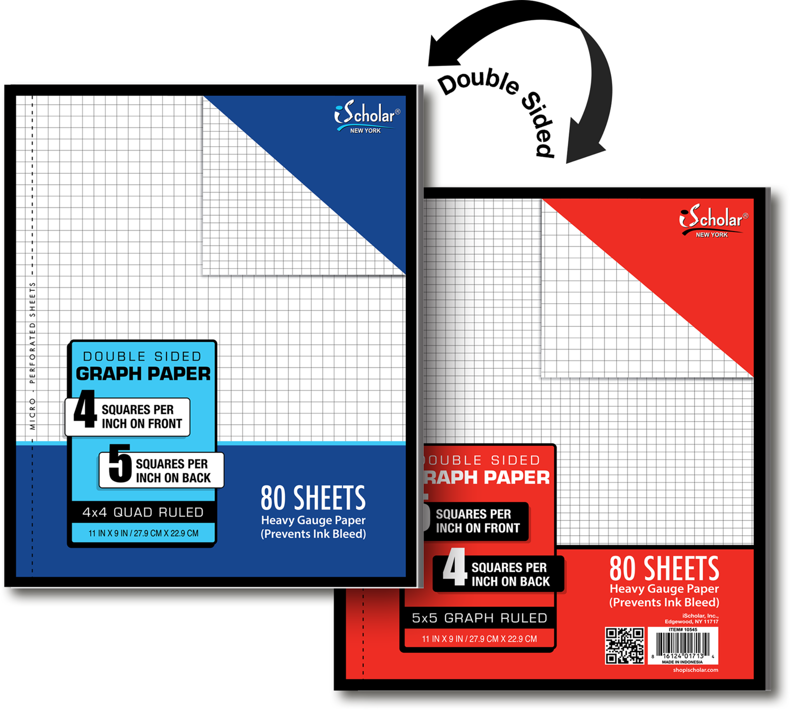 Cover Image For GRAPHING PAPER PAD 2-SIDED