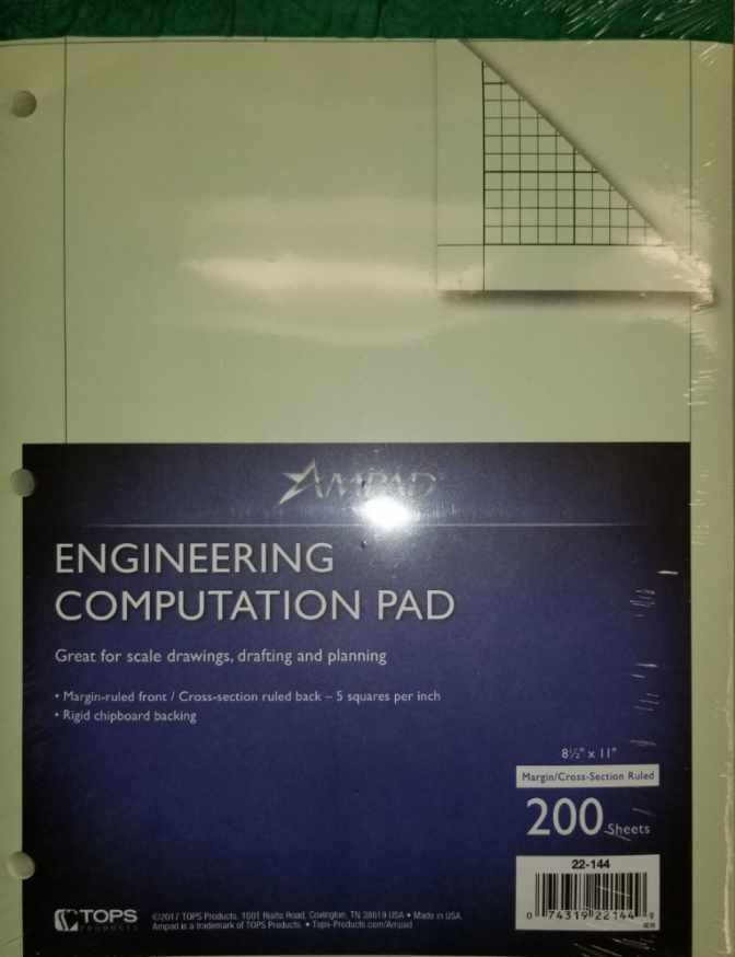 Image For ENGINEERING PAD