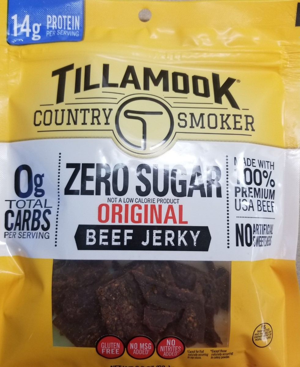 Image For BEEF JERKY - NO SUGAR