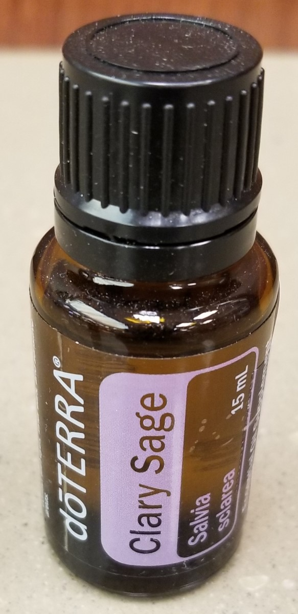 Image For MASSAGE OIL CLARY SAGE