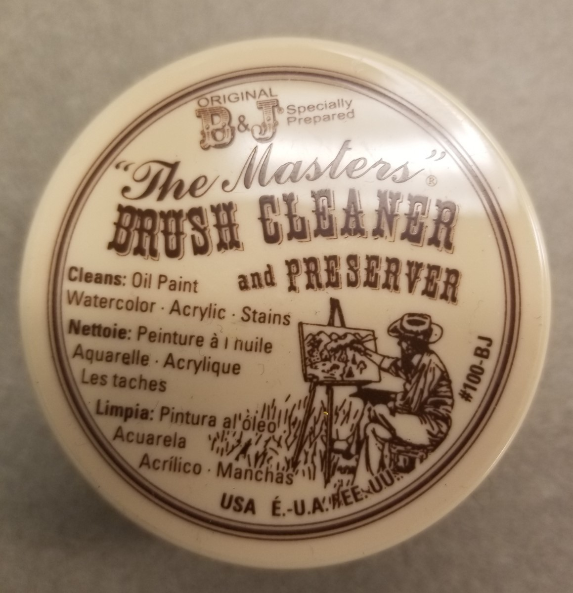 Image For BRUSH CLEANER 1 oz. **ONLY 2 LEFT