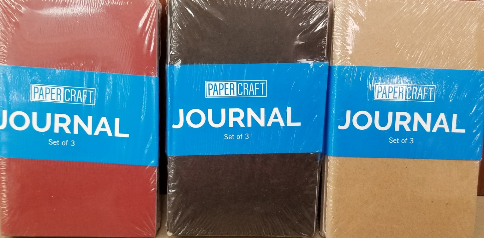 Cover Image For NOTEBOOK 3/PK JOURNAL