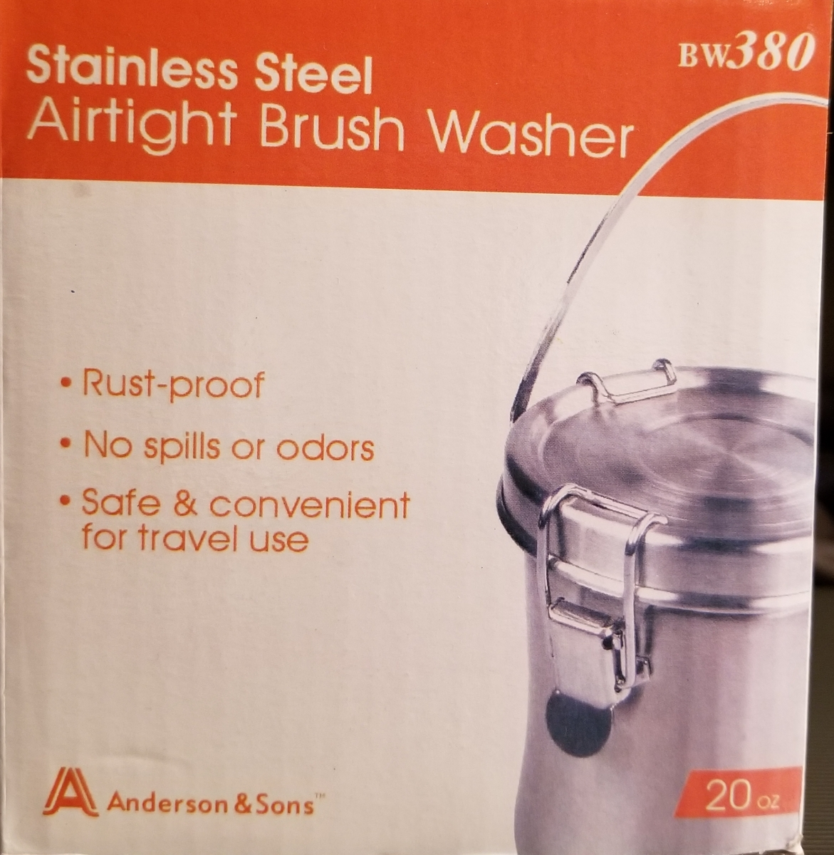 Image For AIRTIGHT BRUSH CLEANER