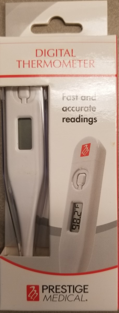 Cover Image For DIGITAL THERMOMETER  - WHITE
