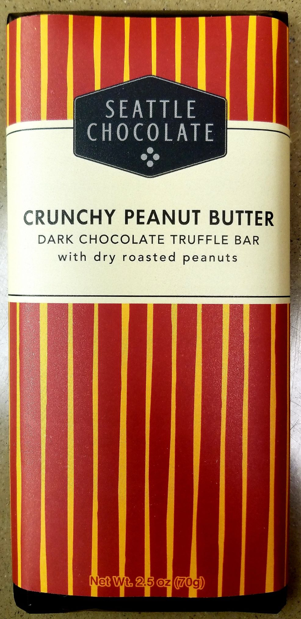 Cover Image For CANDY Crunchy Peanut Butter