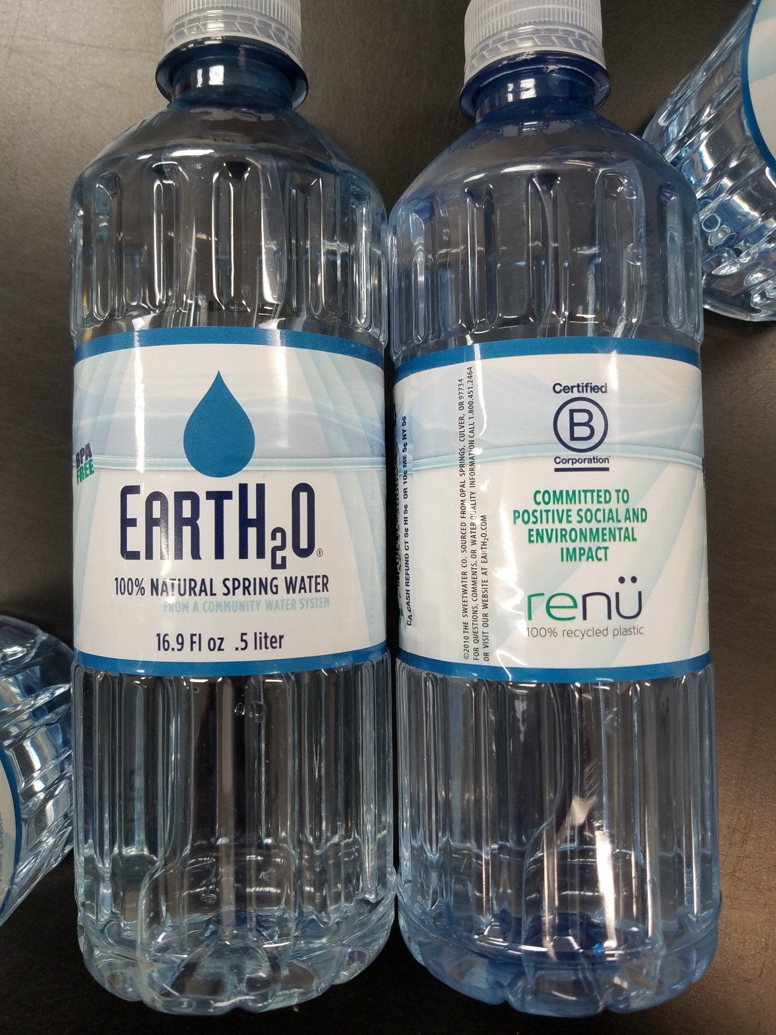 Image For WATER EARTH-2-O 16.9oz.