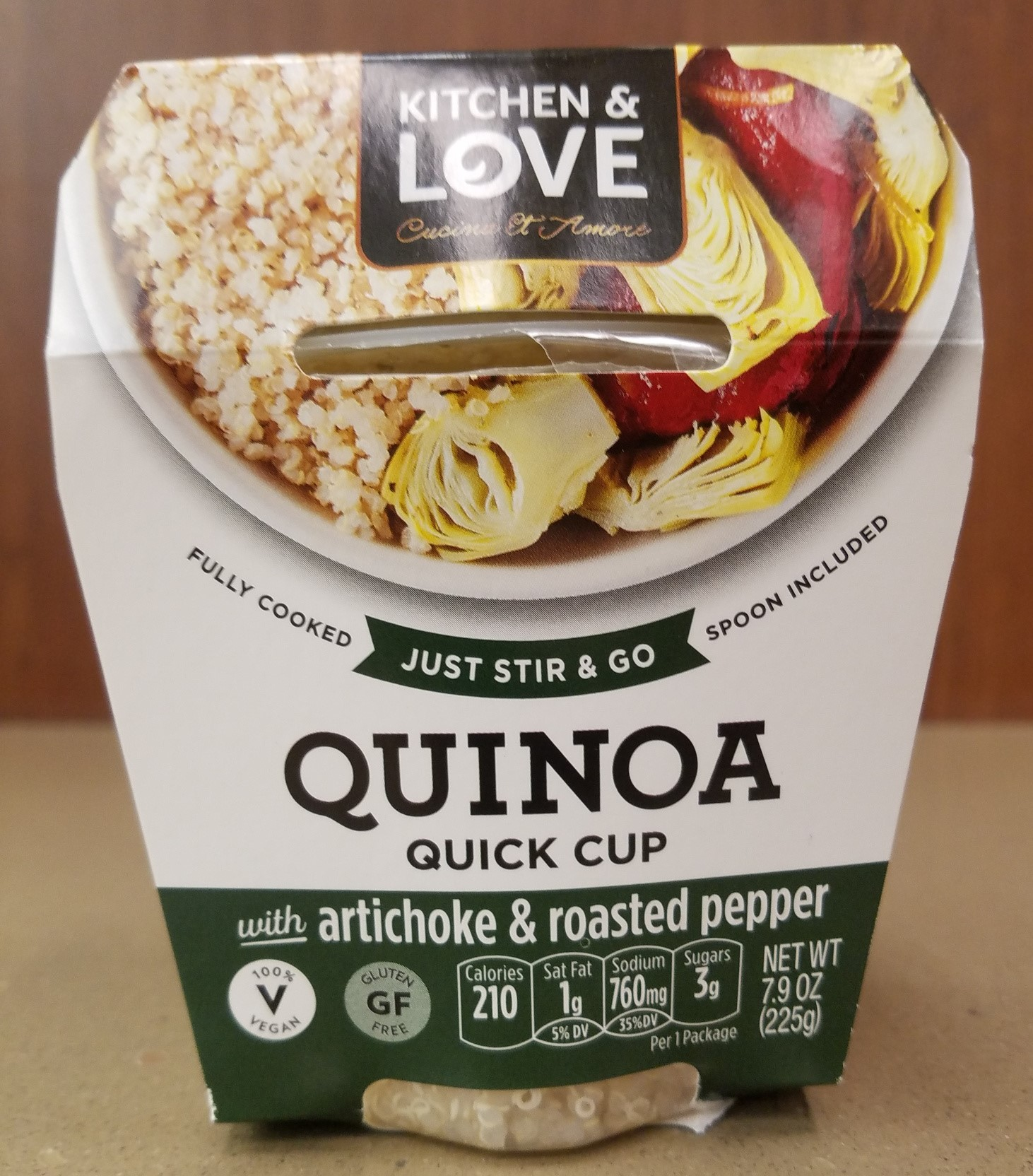 Image For QUINOA QUICK CUP ** ONLY 2 LEFT