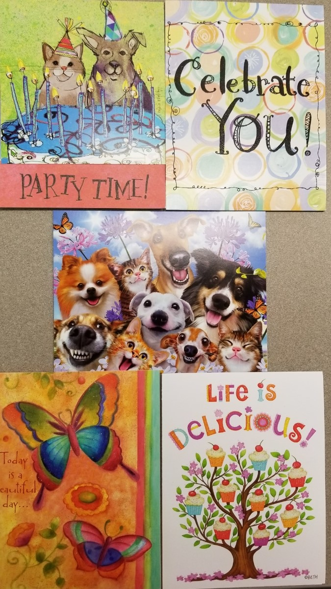 Cover Image For GREETING CARDS: BIRTHDAY